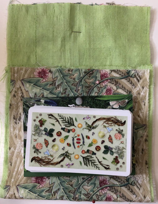 Pouch unsewn