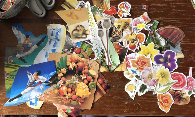 Morningcollagepile