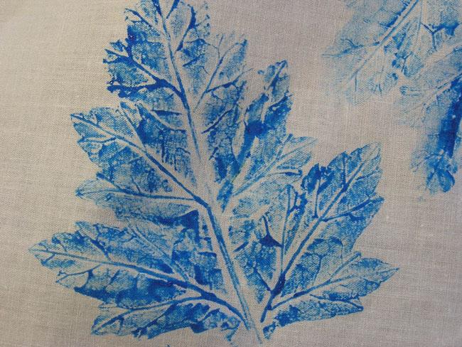 Blueleafprint